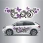 Preview: Cartattoo Blumenranke C 067