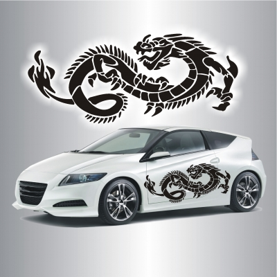 Cartattoo Tribal Drache C 059