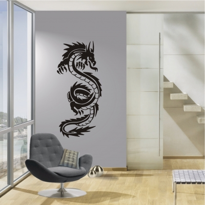 deko shop wandtattoo drache deko shop. Black Bedroom Furniture Sets. Home Design Ideas