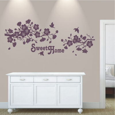 Wandtattoo Sweet Home 536