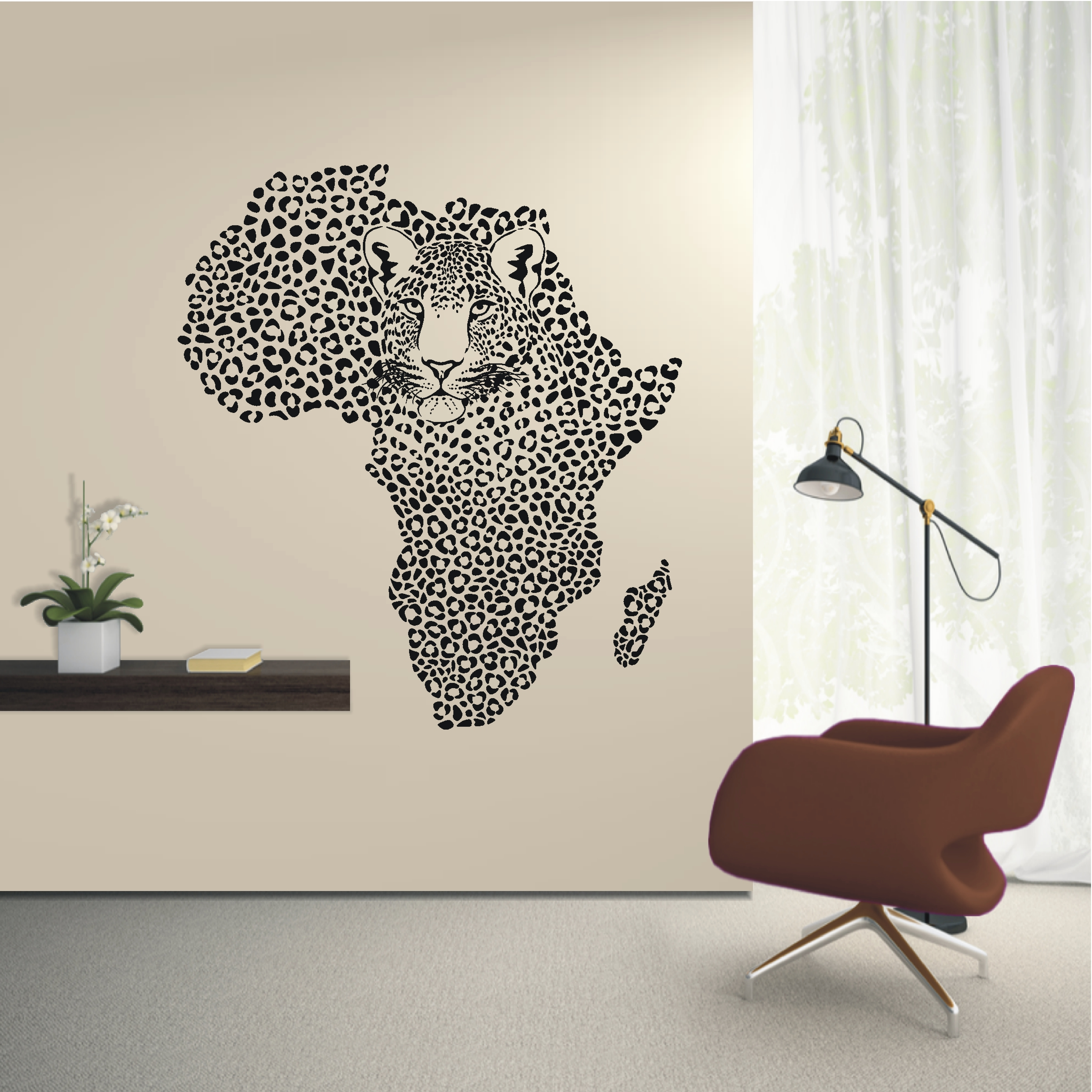 wandtattoo afrika reuniecollegenoetsele. Black Bedroom Furniture Sets. Home Design Ideas