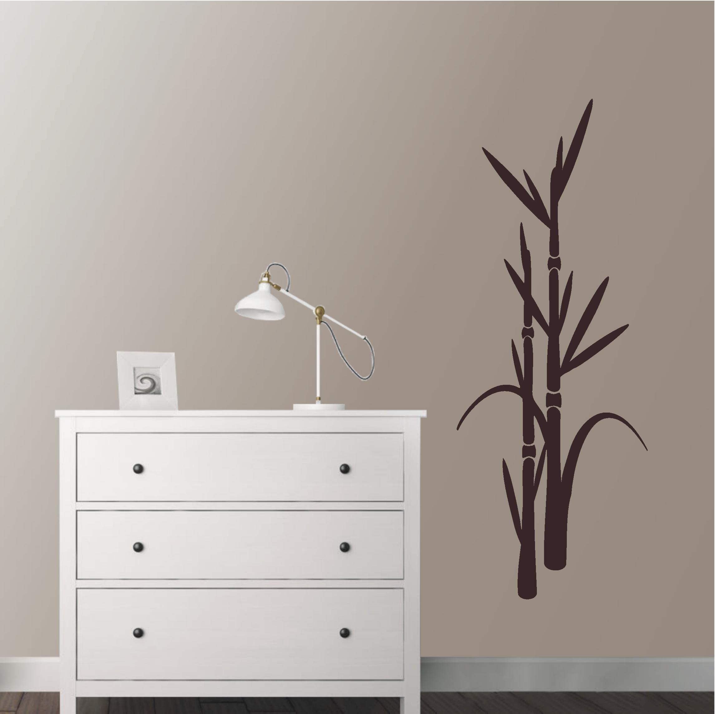 Wandtattoo-Bambus Pflanze-deko-shop-24.de