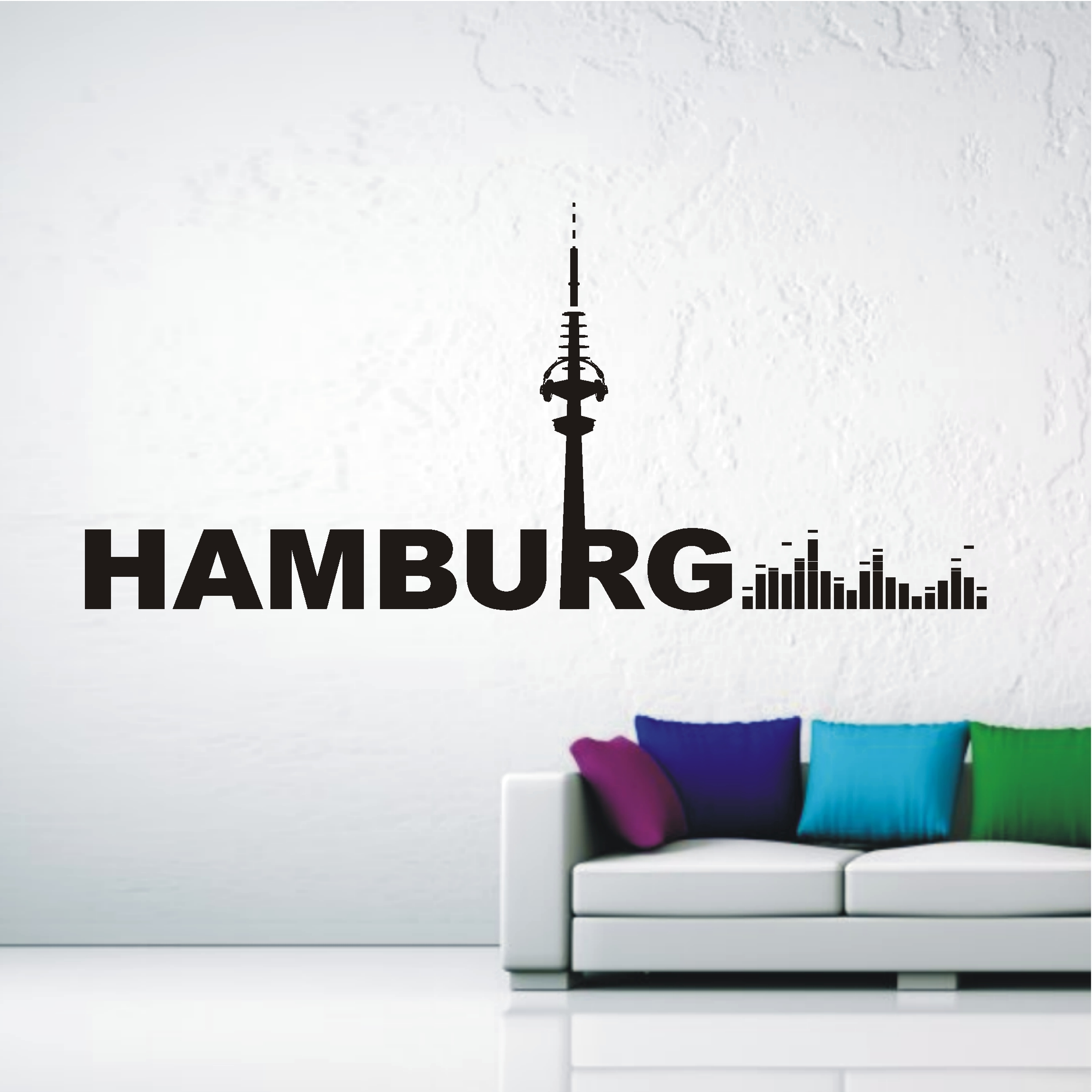 deko shop wandtattoo hamburg music deko shop. Black Bedroom Furniture Sets. Home Design Ideas