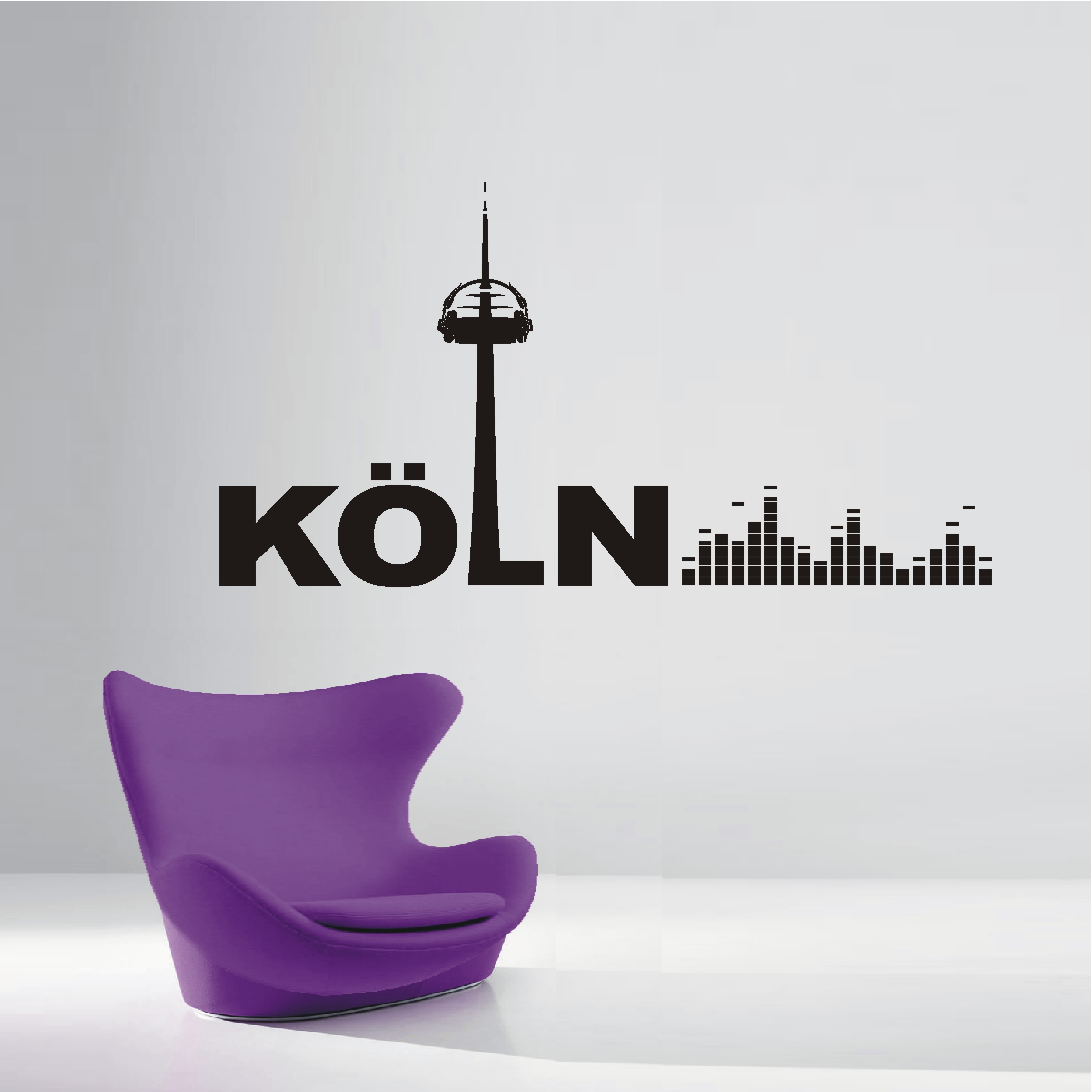 Ansprechend Wandtattoo Köln Referenz Von Deko-shop-24.de-wandtattoo-köln Music