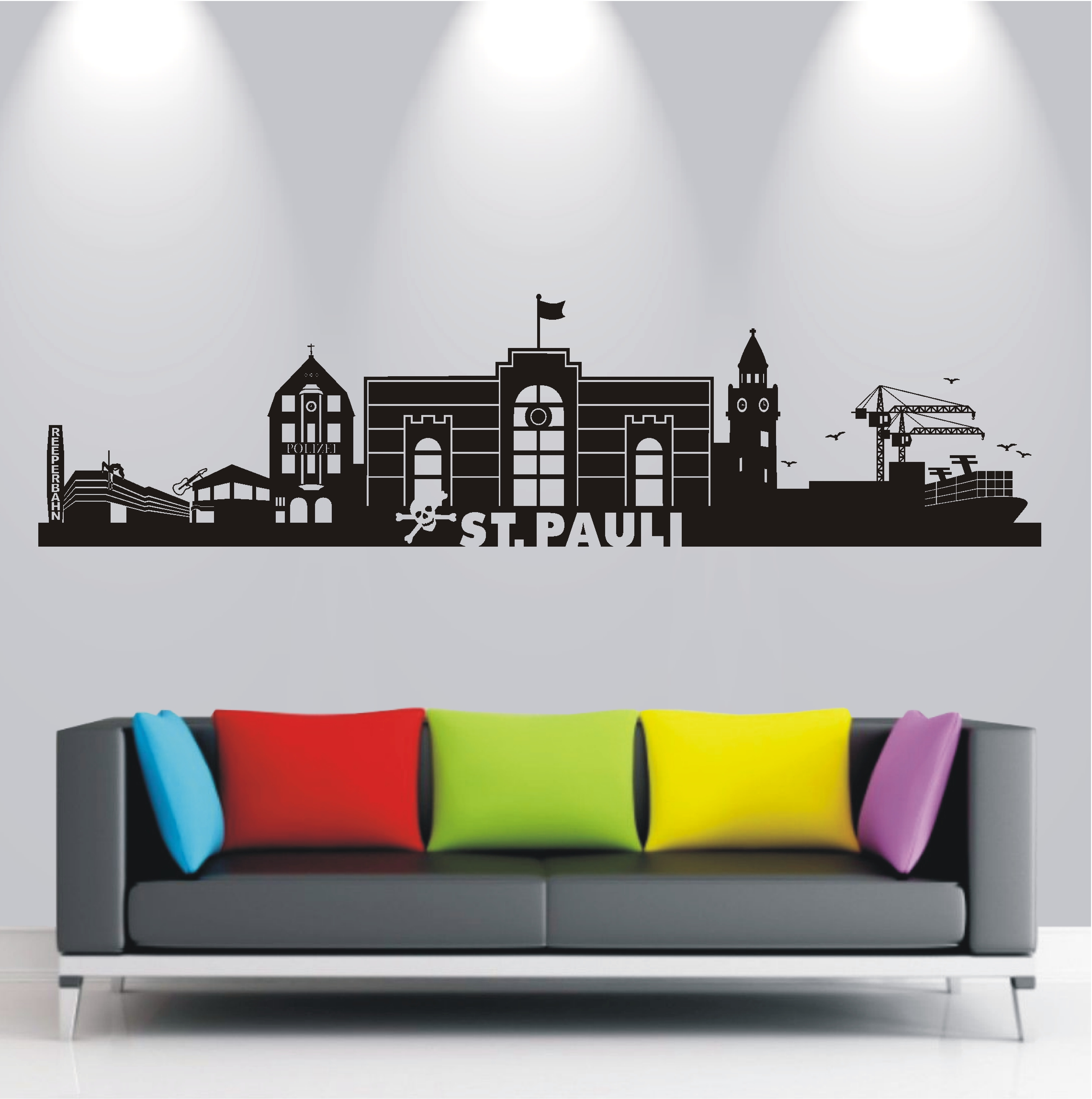wandtattoo hamburg st pauli reuniecollegenoetsele. Black Bedroom Furniture Sets. Home Design Ideas